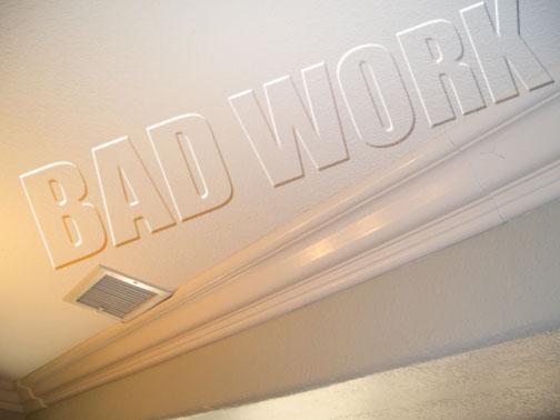 San Diego Molding Bad Work Gallery