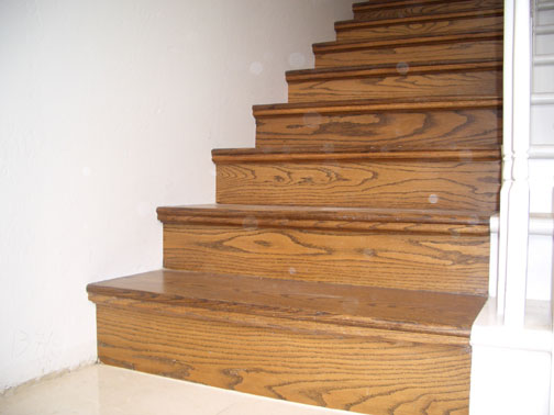 San Diego Molding Stair Panel