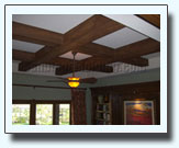faux wood beams